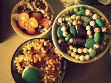 Storing jewelry in bowls