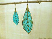 #2 Feather earrings