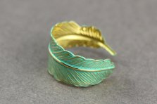 #1 Feather ring