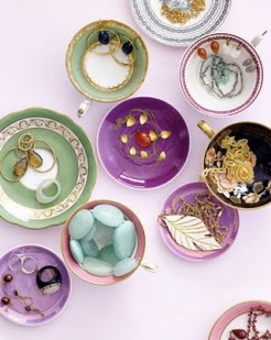 Jewels in bowls