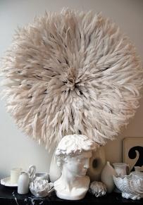Classy white JuJu hat