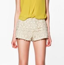 crochet yellow white
