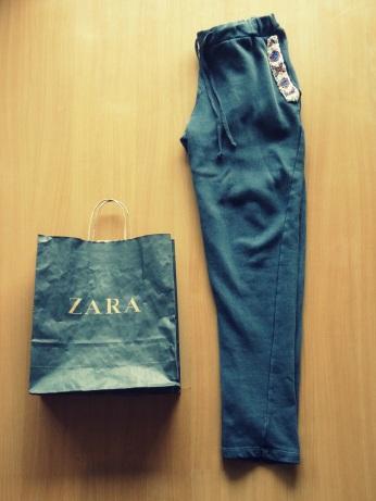 New in: Zara trousers