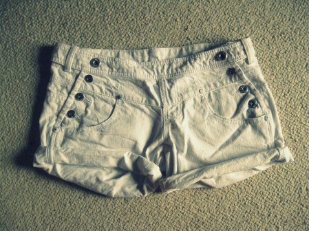 Keep or Leave: My own sailor shorts by Mango