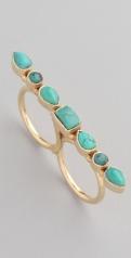 Jewelry ring blue