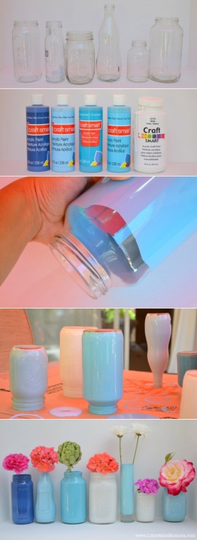 recycle DIY mason jars