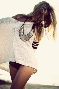 Stament necklace