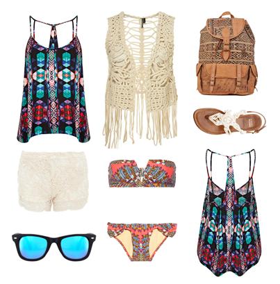 Summer boho wishlist