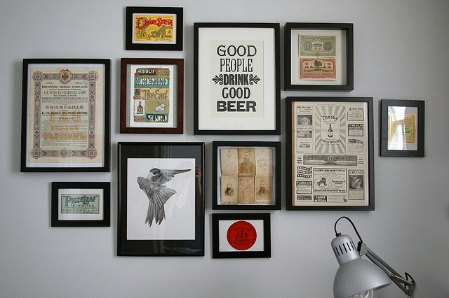 Wall art frames contentable for Wall of framed pictures