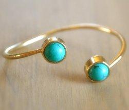 Wishlist blue bracelet