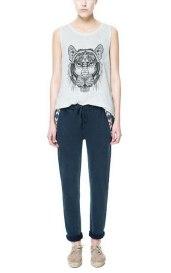 Zara aztec trousers