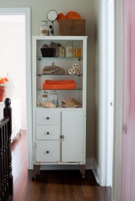 doctors cabinet blue orange