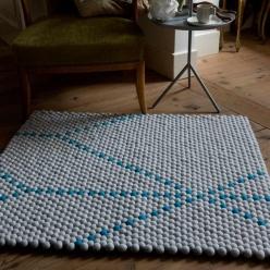 Hay carpet