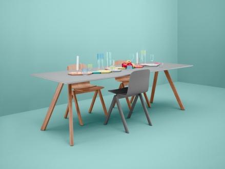 Hay table